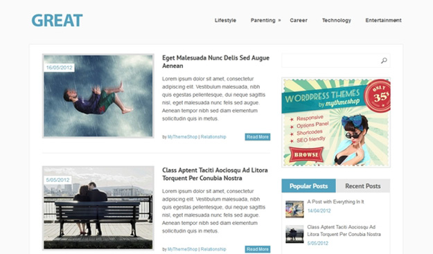 25 Beautiful Free Wordpress Magazine Themes Design Geekz