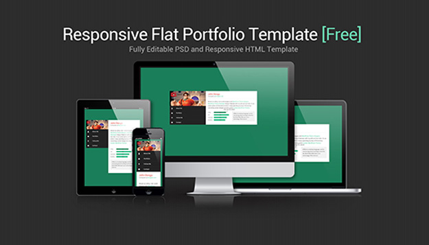 flat and responsive